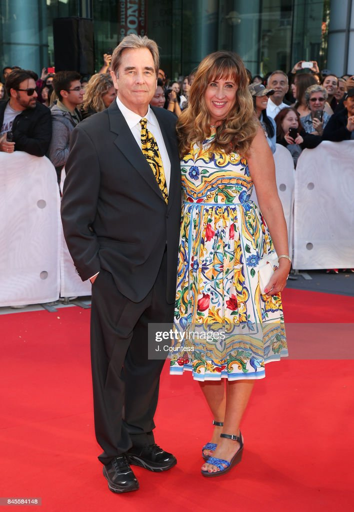 Actor Beau Bridges (L) attends the premiere of 'The Mountain Between Us' during the 2017 Toronto International Film Festival at Roy Thomson Hall on September 10, 2017 in Toronto, Canada.