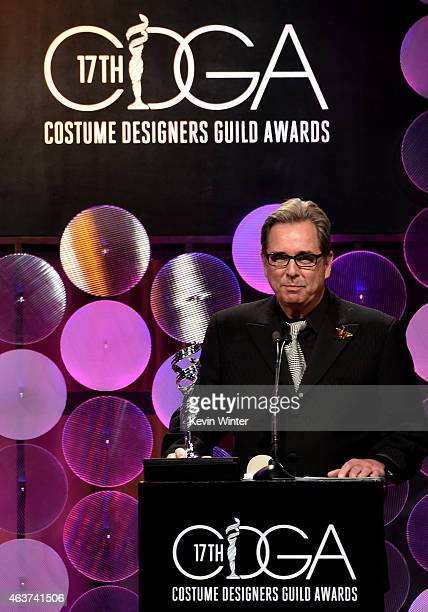 Actor Beau Bridges speaks onstage during 17th Costume Designers Guild Awards with presenting sponsor Lacoste at The Beverly Hilton Hotel on February...