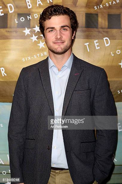 Actor Beau Mirchoff arrives at Ted Baker London SS'16 Launch Event at Sunset Tower Hotel on March 2 2016 in West Hollywood California