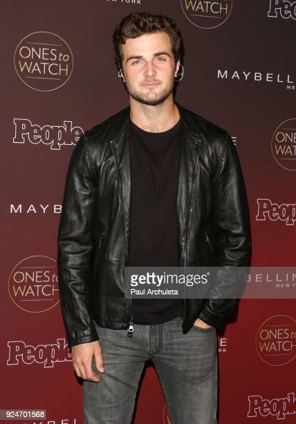 Actor Beau Mirchoff attends People's 'Ones To Watch' party at NeueHouse Hollywood on October 4 2017 in Los Angeles California