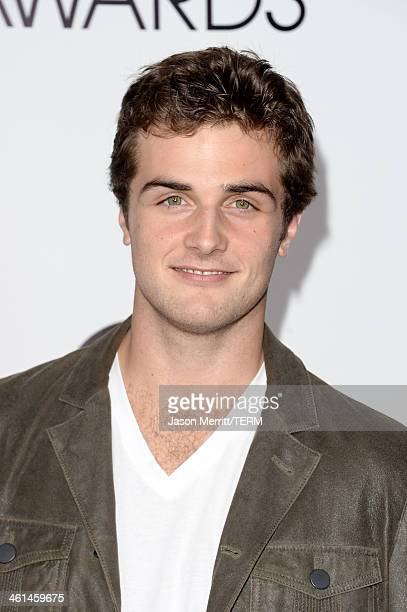 Actor Beau Mirchoff attends The 40th Annual People's Choice Awards at Nokia Theatre LA Live on January 8 2014 in Los Angeles California