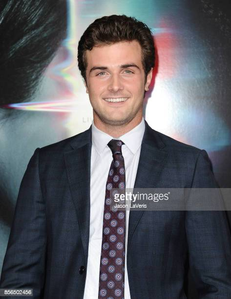 Actor Beau Mirchoff attends the premiere of Flatliners at The Theatre at Ace Hotel on September 27 2017 in Los Angeles California