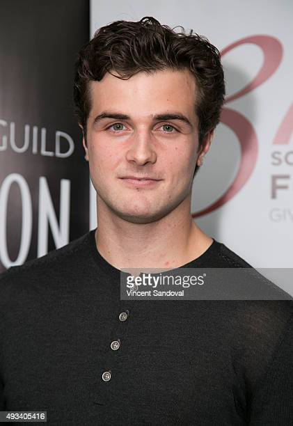 Actor Beau Mirchoff attends The SAG Foundation's Conversations series presents MTV's Awkward at SAG Foundation Actors Center on October 19 2015 in...