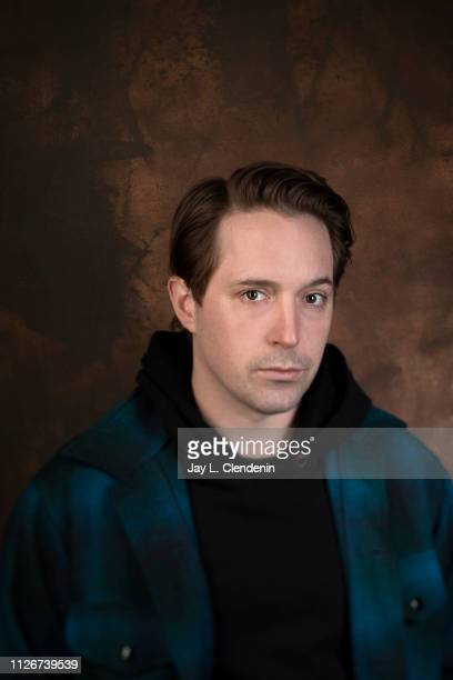 Actor Beck Bennett from 'Greener Grass' is photographed for Los Angeles Times on January 28 2019 at the 2019 Sundance Film Festival in Salt Lake City...