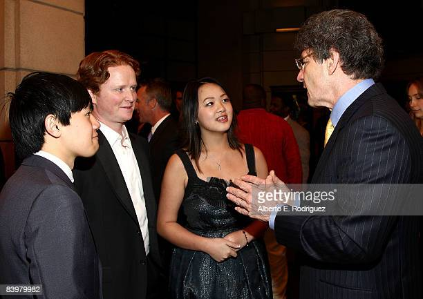 Actor Bee Vang actor Christopher Carley actress Ahney Her and Warner Bros's Alan Horn arrive at the world premiere of Warner Bros Pictures' Gran...