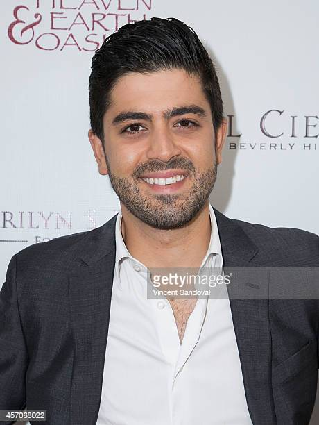 Actor Beejan Land attends the Heaven and Earth Oasis Charity fundraiser at Il Cielo on October 11 2014 in Beverly Hills California