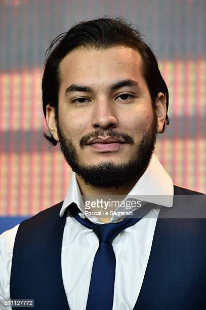 Actor Bege Muniz attends the 'Time Was Endless' press conference during the 66th Berlinale International Film Festival Berlin at Grand Hyatt Hotel on...