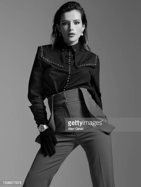 Actor Bella Thorne is photographed for L'Officiel on August 8, 2019 in London, England.