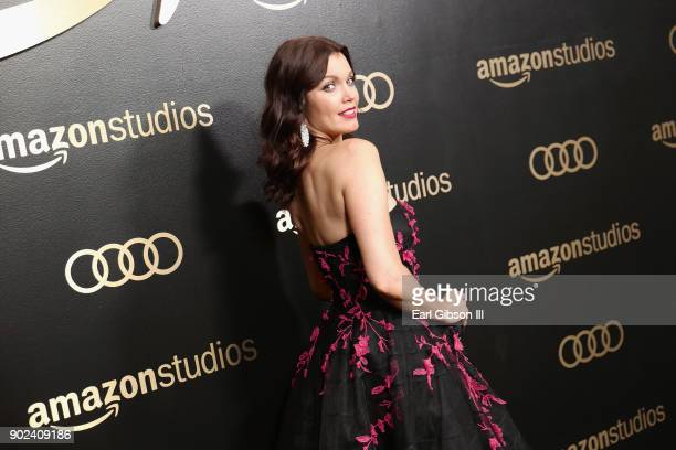 Actor Bellamy Young attends Amazon Studios' Golden Globes Celebration at The Beverly Hilton Hotel on January 7 2018 in Beverly Hills California