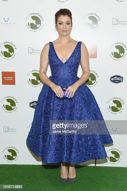 Actor Bellamy Young attends the 2018 Farm Sanctuary on the Hudson gala at Pier 60 on October 4 2018 in New York City