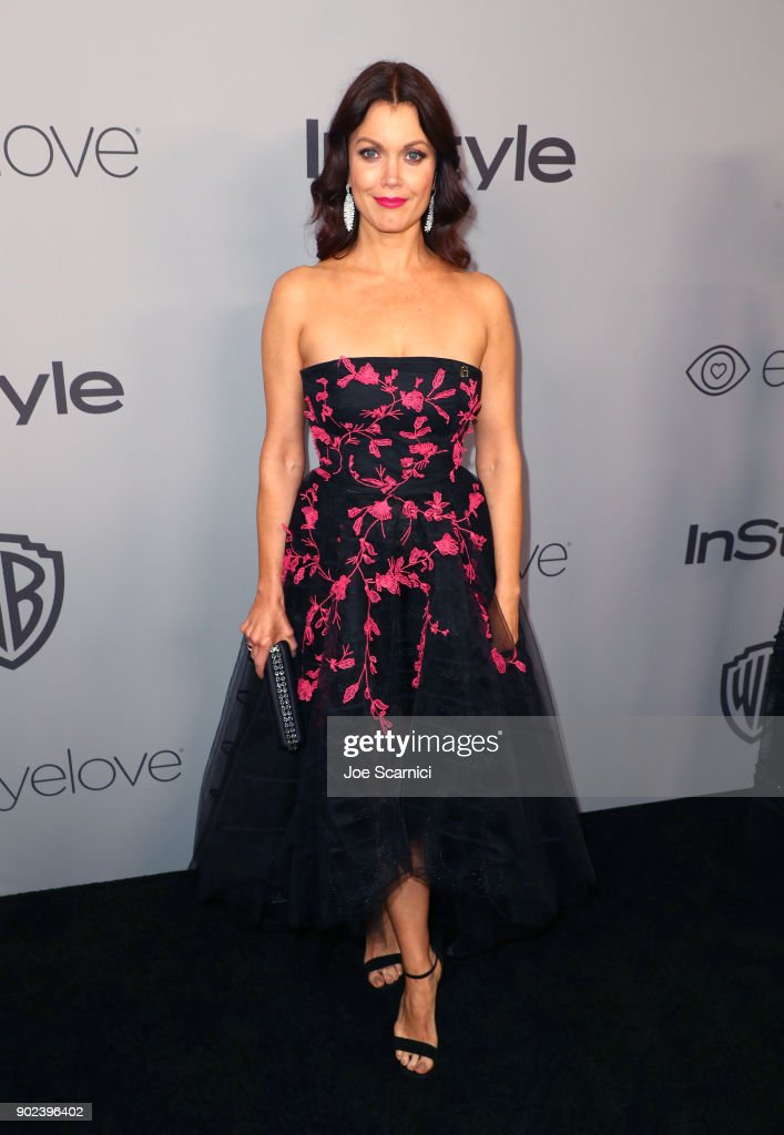 Actor Bellamy Young attends the 2018 InStyle and Warner Bros. 75th Annual Golden Globe Awards Post-Party at The Beverly Hilton Hotel on January 7, 2018 in Beverly Hills, California.