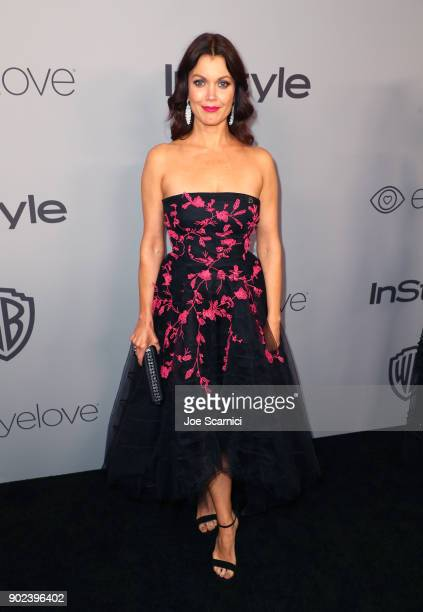 Actor Bellamy Young attends the 2018 InStyle and Warner Bros 75th Annual Golden Globe Awards PostParty at The Beverly Hilton Hotel on January 7 2018...