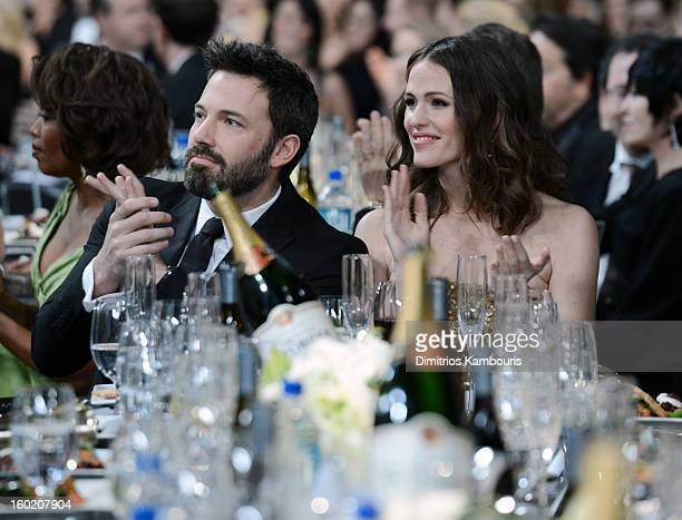 Actor Ben Affleck and actress Jennifer Garner attend the 19th Annual Screen Actors Guild Awards at The Shrine Auditorium on January 27 2013 in Los...