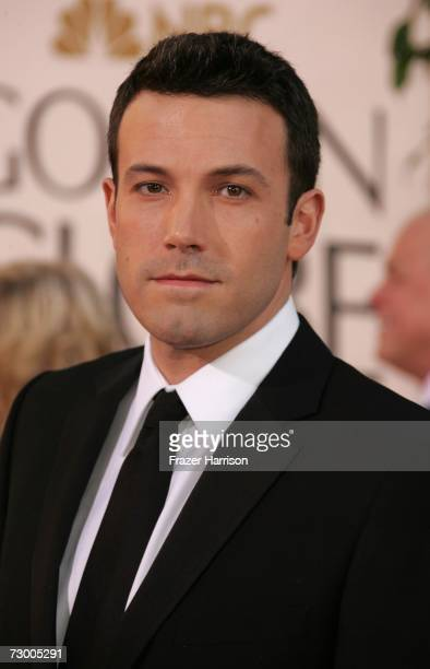 Actor Ben Affleck arrives at the 64th Annual Golden Globe Awards at the Beverly Hilton on January 15 2007 in Beverly Hills California