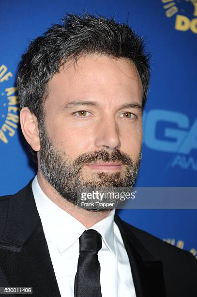Actor Ben Affleck arrives at the 65th Annual Directors Guild Awards held at the Ray Dolby Ballroom at Hollywood Highland