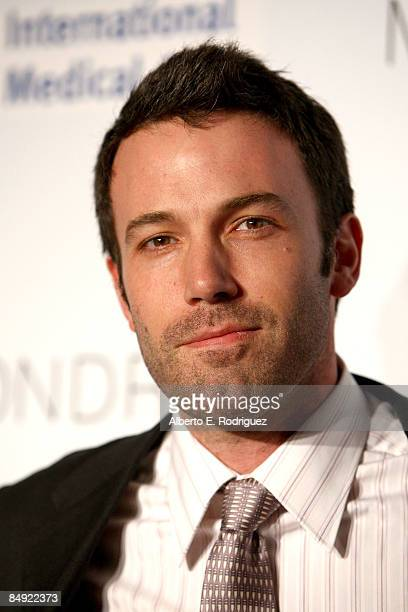Actor Ben Affleck arrives at the Children Mending Hearts gala honoring International Medical Corps at the House of Blues on February 18 2009 in Los...