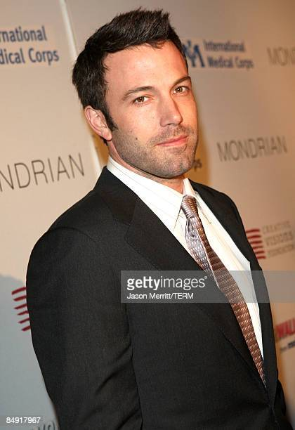 Actor Ben Affleck arrives at the Children Mending Hearts Gala held at the House Of Blues on February 18 2009 in Hollywood California