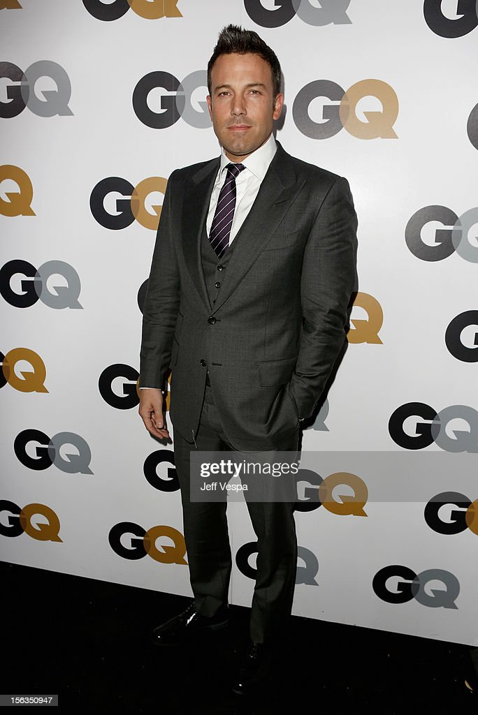 Actor Ben Affleck arrives at the GQ Men of the Year Party at Chateau Marmont on November 13, 2012 in Los Angeles, California.