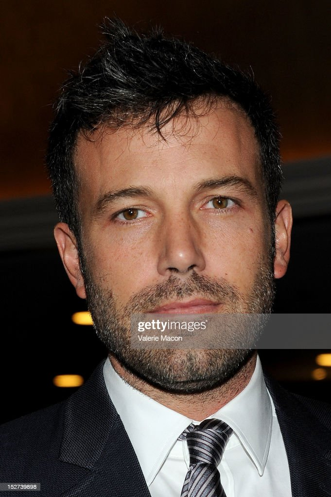 Actor Ben Affleck arrives at The National Multiple Sclerosis Society's 38th Annual Dinner Of Champions at the Hyatt Regency Century Plaza on September 24, 2012 in Los Angeles, California.