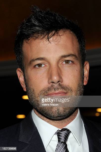 Actor Ben Affleck arrives at The National Multiple Sclerosis Society's 38th Annual Dinner Of Champions at the Hyatt Regency Century Plaza on...