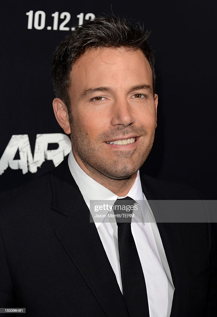 Actor Ben Affleck arrives at the premiere of Warner Bros. Pictures' 'Argo' at AMPAS Samuel Goldwyn Theater on October 4, 2012 in Beverly Hills, California.