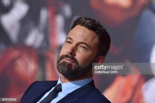 Actor Ben Affleck arrives at the premiere of Warner Bros Pictures' 'Justice League' at Dolby Theatre on November 13 2017 in Hollywood California