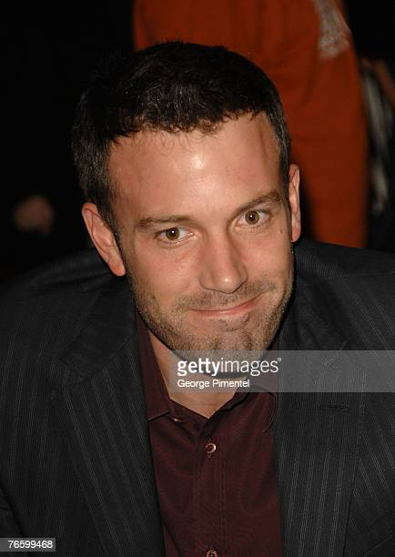 Actor Ben Affleck at the premiere of The Assassination of Jesse James by the Coward Robert Ford at the Elgin Theatre at The 32nd Annual Toronto...