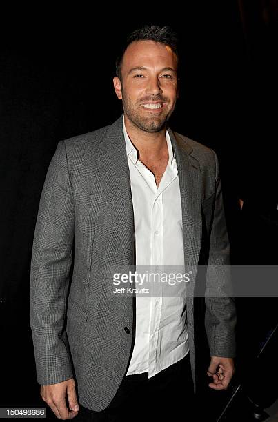 Actor Ben Affleck attends DoSomething.org and VH1's 2012 Do Something Awards at Barker Hangar on August 19, 2012 in Santa Monica, California.