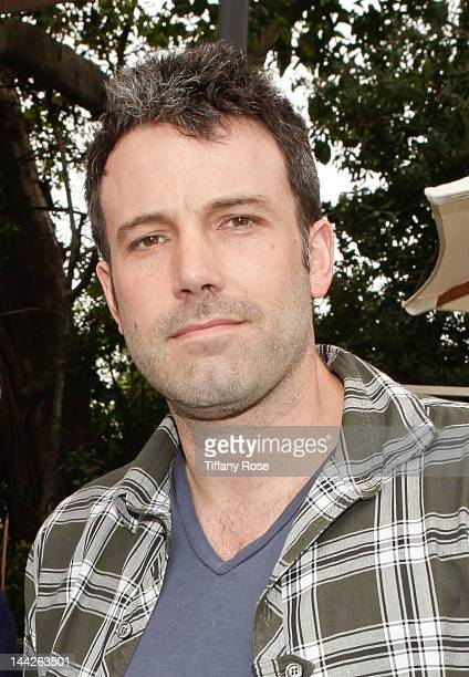 Actor Ben Affleck attends Hank Azaria's 'Playing for Good' Poker Tournament hosted by Belvedere and Grand Marnier on May 12 2012 in Los Angeles...