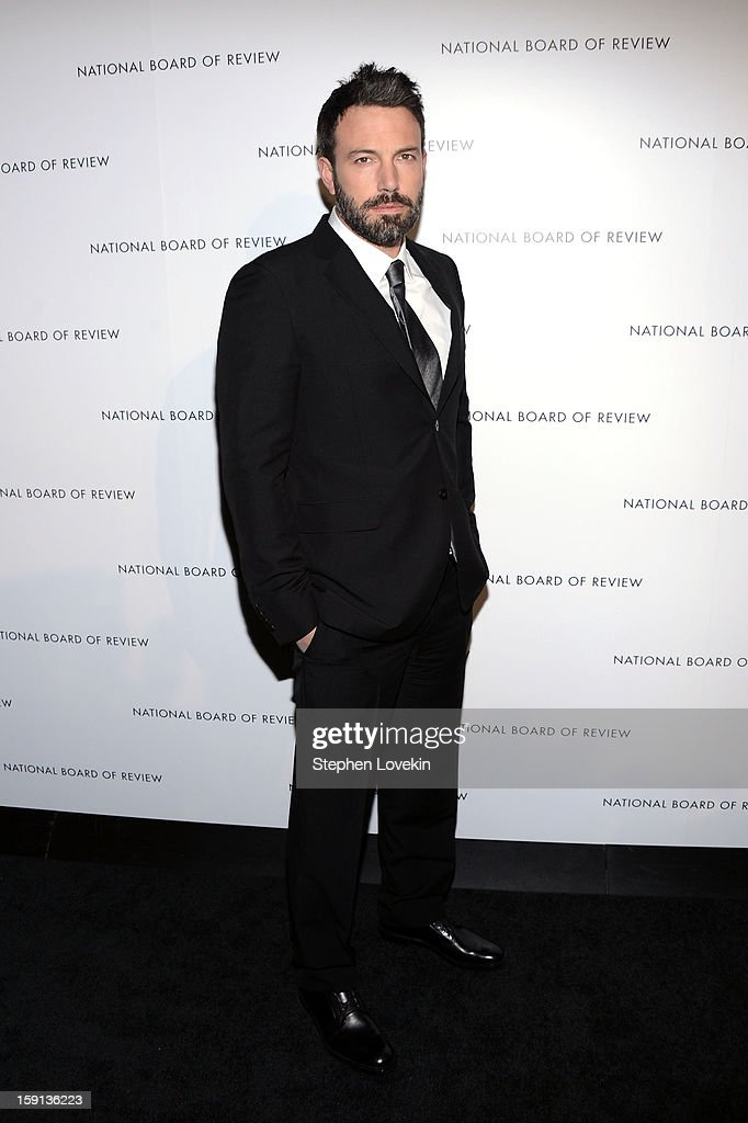 Actor Ben Affleck attends the 2013 National Board Of Review Awards at Cipriani 42nd Street on January 8, 2013 in New York City.