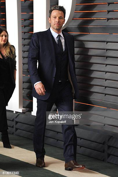 Actor Ben Affleck attends the 2016 Vanity Fair Oscar Party hosted By Graydon Carter at Wallis Annenberg Center for the Performing Arts on February 28...