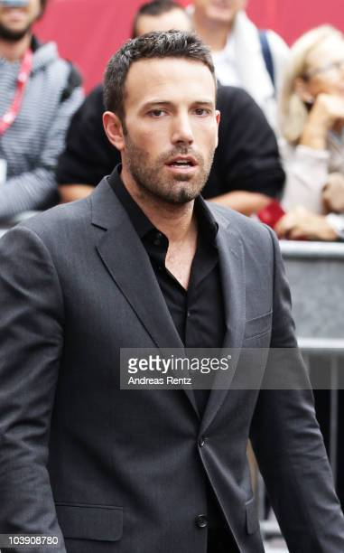 Actor Ben Affleck attends the 67th Venice Film Festival on September 8 2010 in Venice Italy