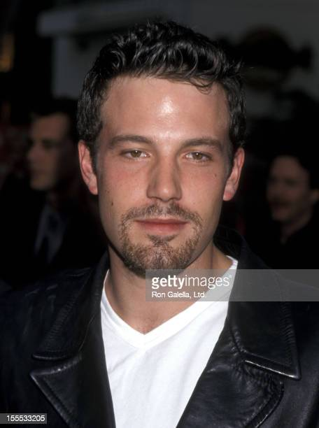 Actor Ben Affleck attends the American Pie Univeral City Premiere on July 7 1999 at Cineplex Odeon Universal City Cinemas in Universal City California