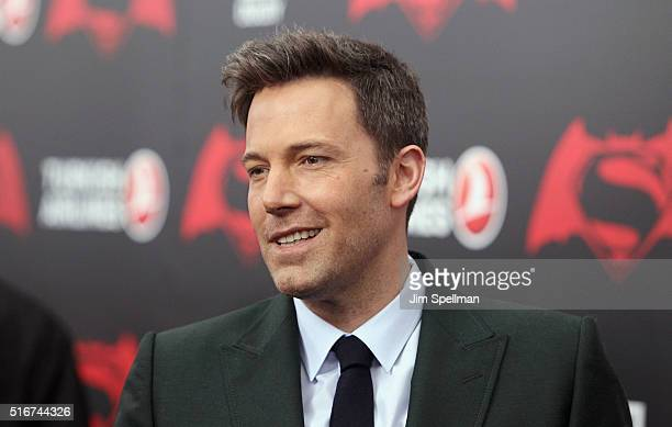 """Actor Ben Affleck attends the """"Batman V Superman: Dawn Of Justice"""" New York premiere at Radio City Music Hall on March 20, 2016 in New York City."""