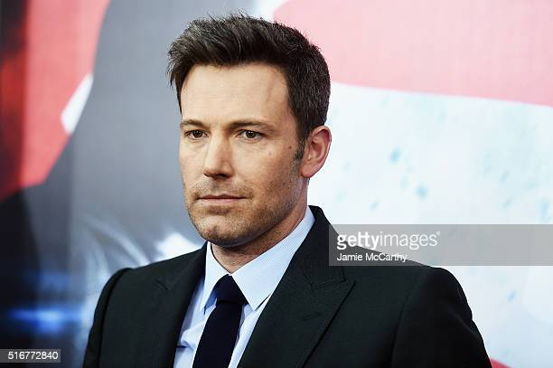 Actor Ben Affleck attends the 'Batman V Superman Dawn Of Justice' New York Premiere at Radio City Music Hall on March 20 2016 in New York City