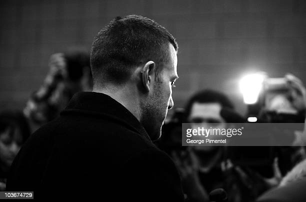 Actor Ben Affleck attends 'The Company Men' premiere during the 2010 Sundance Film Festival at Eccles Center Theatre on January 22 2010 in Park City...