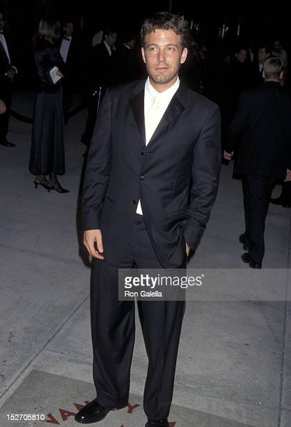 Actor Ben Affleck attends the Eighth Annual Vanity Fair Oscar Party on March 25 2001 at Morton's Restaurant in West Hollywood California