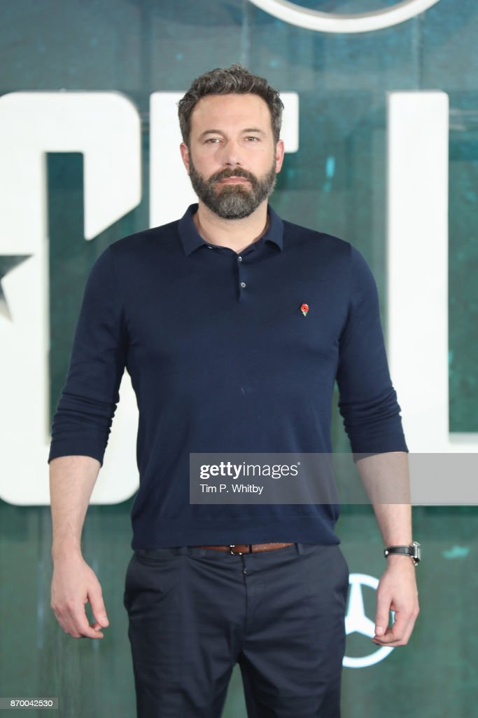 Actor Ben Affleck attends the 'Justice League' photocall at The College on November 4, 2017 in London, England.