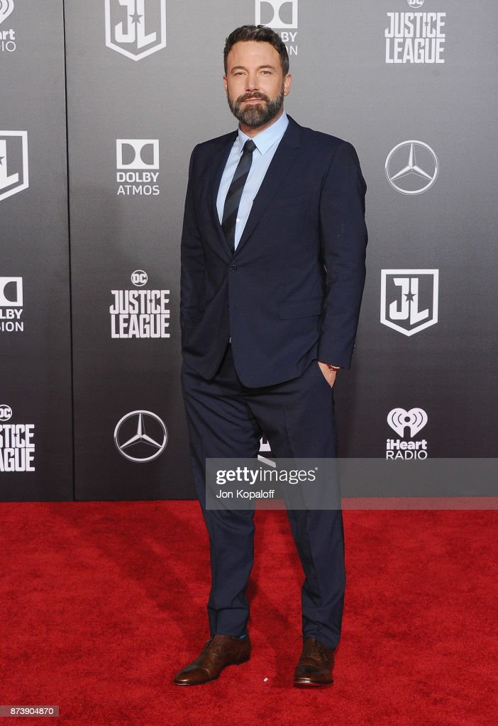 Actor Ben Affleck attends the Los Angeles Premiere of Warner Bros. Pictures' 'Justice League' at Dolby Theatre on November 13, 2017 in Hollywood, California.