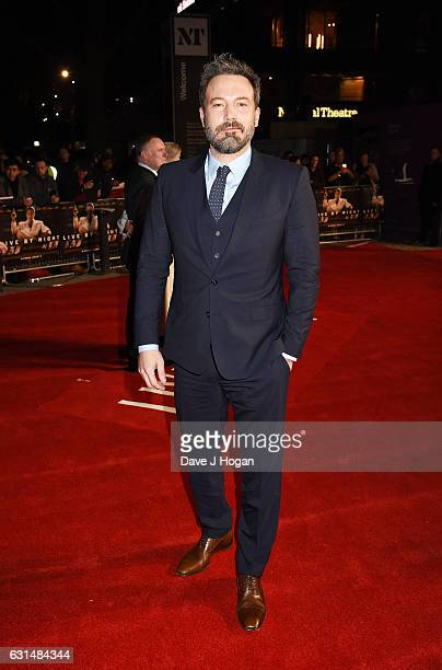 Actor Ben Affleck attends the premiere of Live By Night at BFI Southbank on January 11 2017 in London England