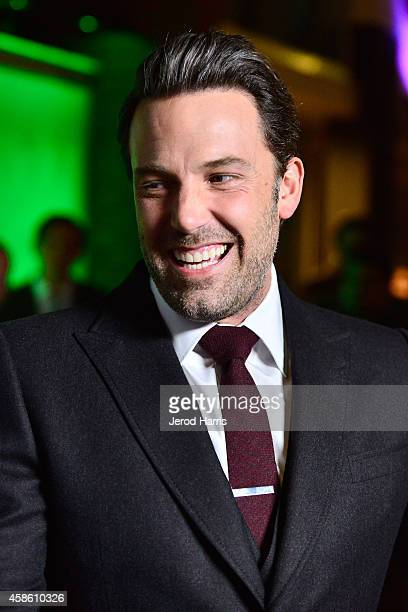 Actor Ben Affleck attends the 'Project Greenlight' event at Boulevard3 on November 7 2014 in Hollywood California