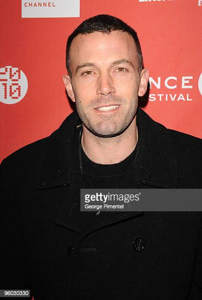 Actor Ben Affleck attends the 'The Company Men' Premiere at Eccles Center Theatre during the 2010 Sundance Film Festival on January 22 2010 in Park...