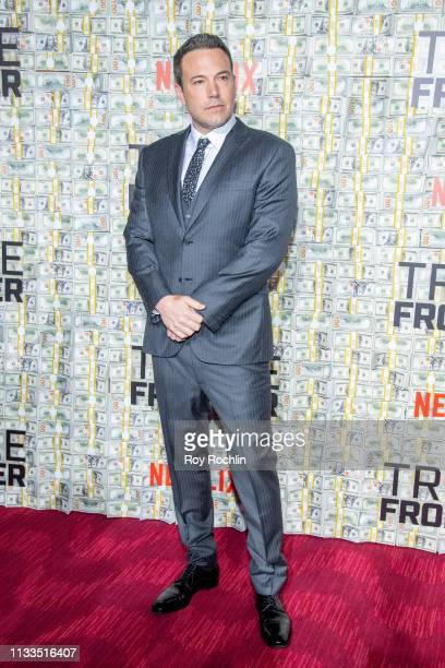 """Actor Ben Affleck attends the """"Triple Frontier"""" World Premiere at Jazz at Lincoln Center on March 03, 2019 in New York City."""