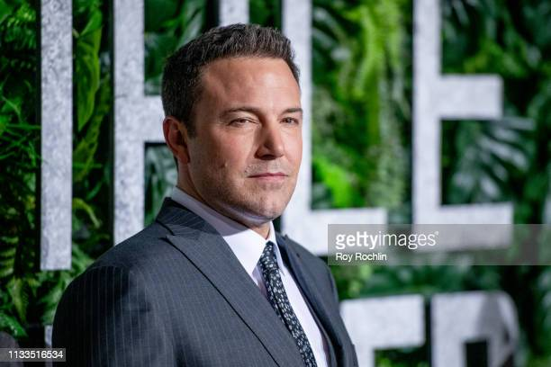 Actor Ben Affleck attends the Triple Frontier World Premiere at Jazz at Lincoln Center on March 03 2019 in New York City