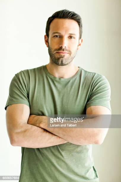 Actor Ben Affleck is photographed for USA Weekend on March 30 2010 in Los Angeles California