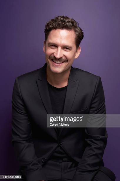 Actor Ben Aldridge of Epix's Pennyworth poses for a portrait during the 2019 Winter TCA at The Langham Huntington Pasadena on February 10 2019 in...