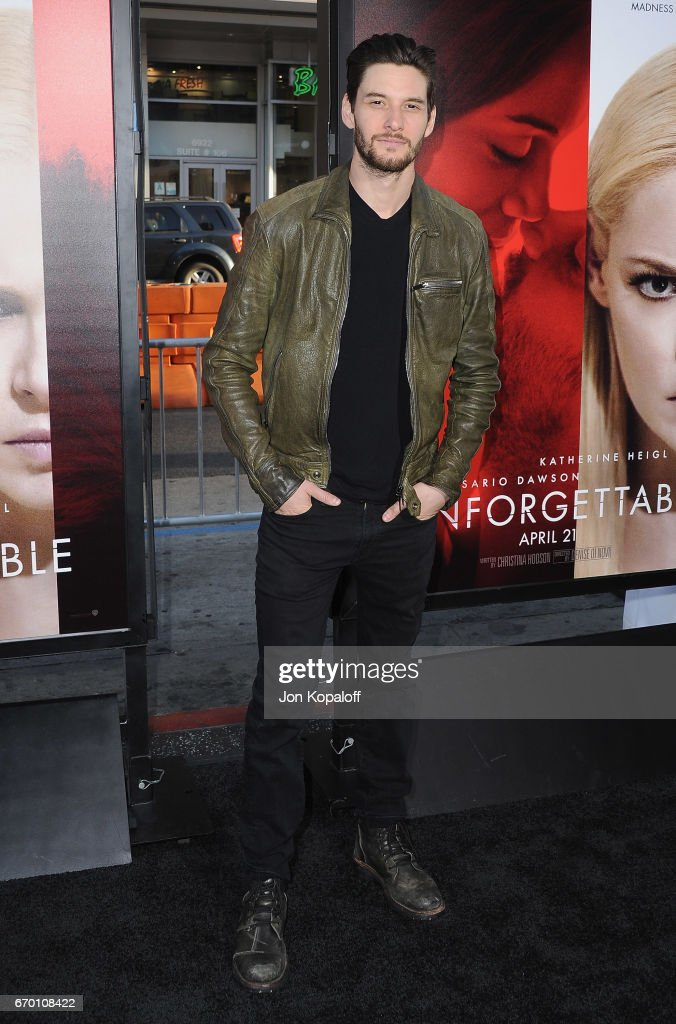 Actor Ben Barnes arrives at the Los Angeles Premiere 'Unforgettable' at TCL Chinese Theatre on April 18, 2017 in Hollywood, California.
