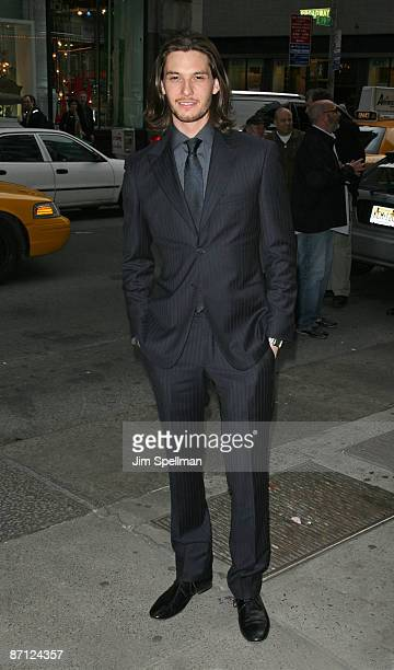 Actor Ben Barnes attends a screening of 'Easy Virtue' hosted by The Cinema Society and The Wall Street Journal with JaegerLecoultre and Brooks...