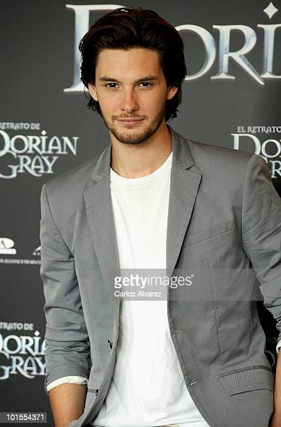 Actor Ben Barnes attends 'El Retrato de Dorian Gray' photocall at the ME Hotel on June 2 2010 in Madrid Spain