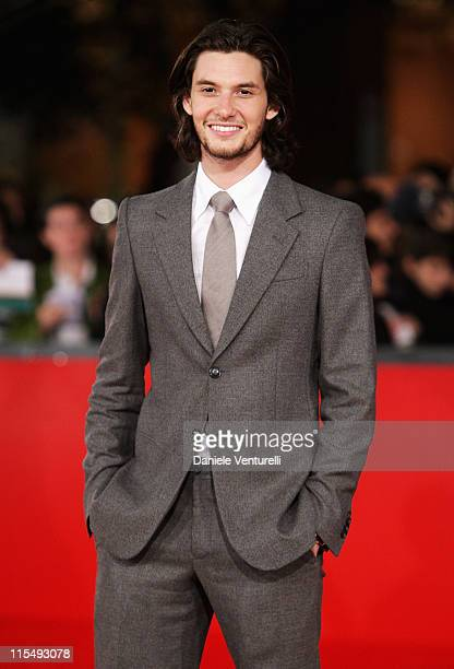 Actor Ben Barnes attends the 'Easy Virtue' Premiere during the 3rd Rome International Film Festival held at the Auditorium Parco della Musica on...